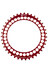 Rotor Q-Ring Kettenblatt innen 130 mm rot